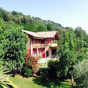 Agriturismo am Ortasee